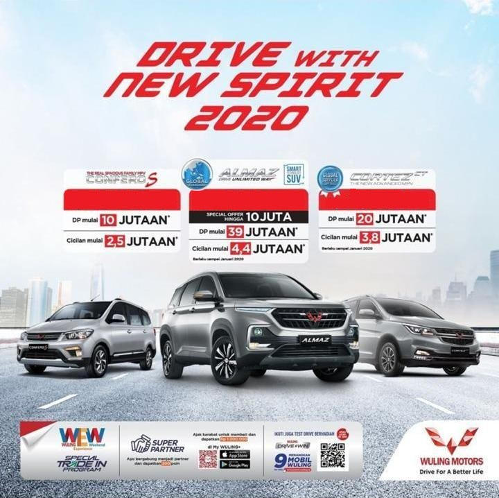 PROMO DRIVE WITH NEW SPIRIT 2020 DI DEALER WULING SOLO